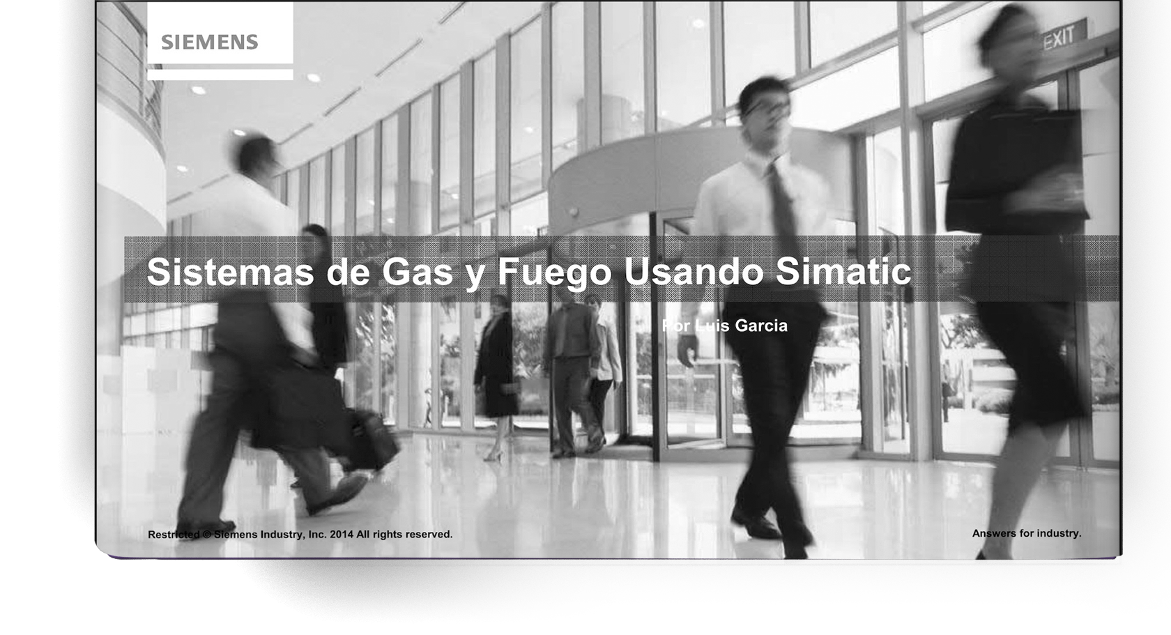 ELICO GROUP. Sistema de fuego y Gas